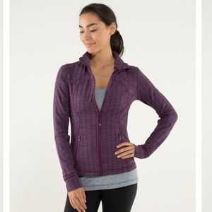 Lululemon Forme Jacket with Cuffins